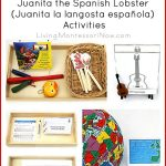 Montessori-Inspired Music Appreciation: Juanita the Spanish Lobster (Juanita la langosta española) Activities {Montessori Monday}