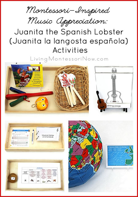 Montessori-Inspired Music Appreciation - Juanita the Spanish Lobster (Juanita la langosta española) Activities