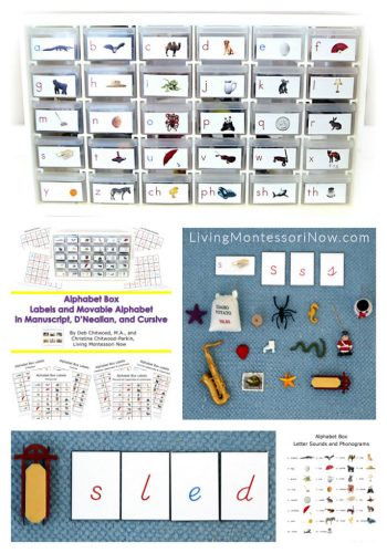 DIY Alphabet Box Multi-Level Printables and Resources