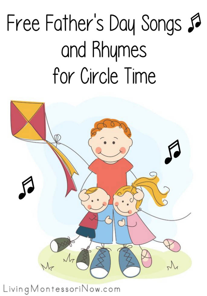 Free Father's Day Songs and Rhymes for Circle Time