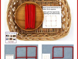 un with Matchstick Puzzles for Multiple Ages {Free Printables}