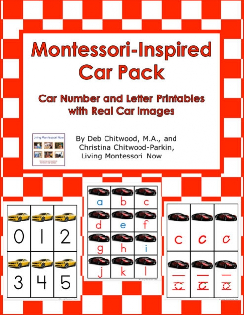 Montessori-Inspired Car Pack