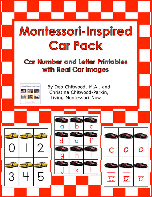 Montessori-Inspired Car Pack