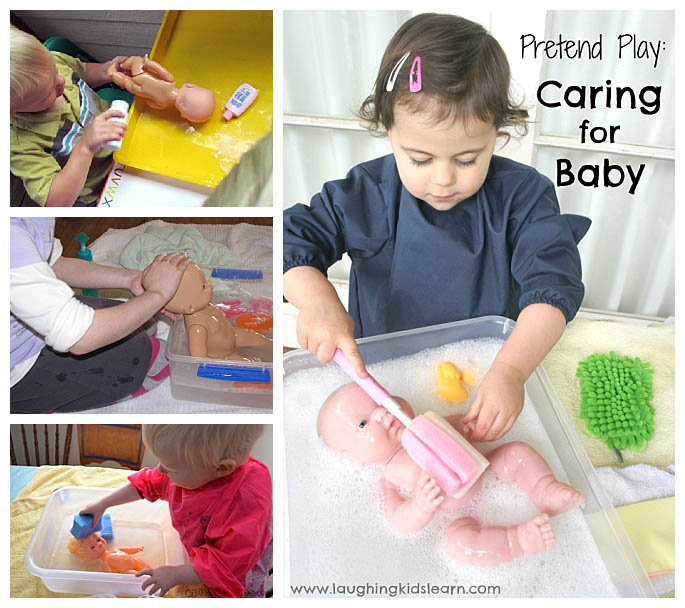 Baby Doll Washing Activities - 2