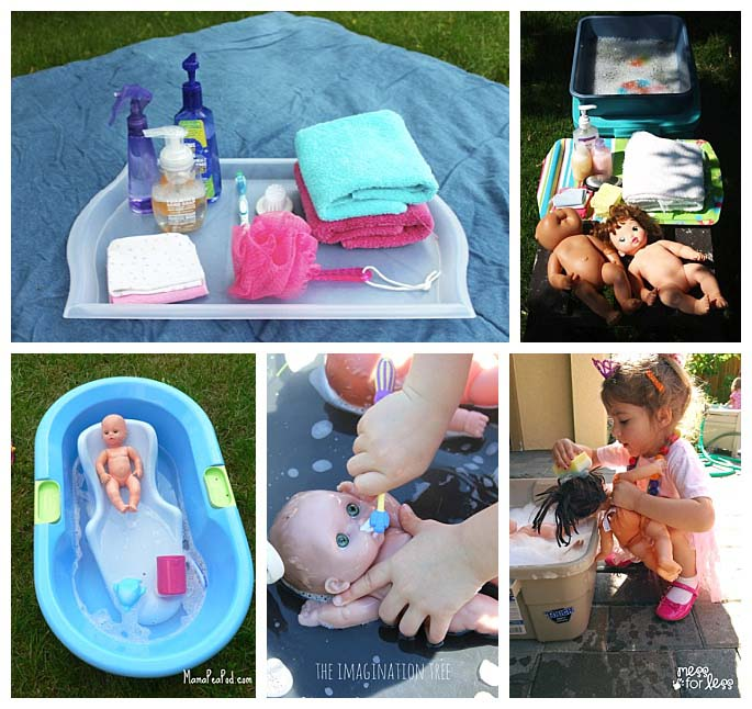 Baby Doll Washing Activities - 3