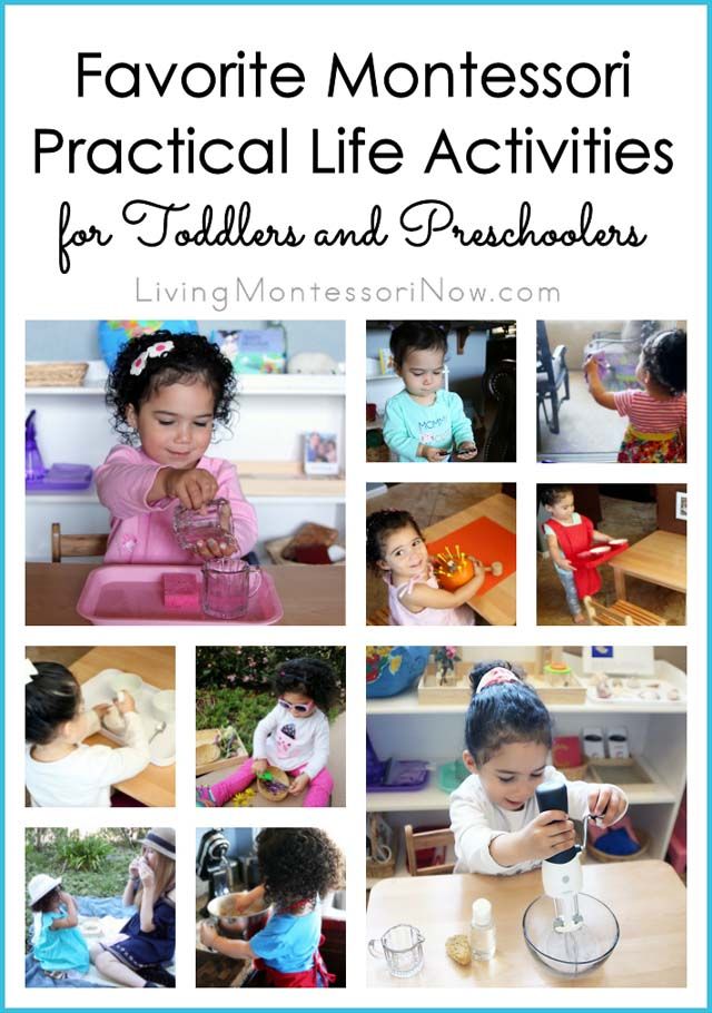 Favorite Practical Life Activities for Toddlers and Preschoolers