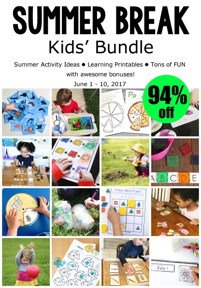 Have Fun and Encourage Learning with the Summer Break Kids' Bundle (94% Off)!