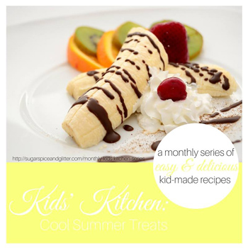 Kids' Kitchen - Cool Summer Treats