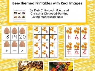 Montessori-Inspired Bee Pack