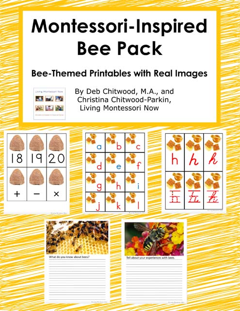 Montessori-Inspired Bee Pack