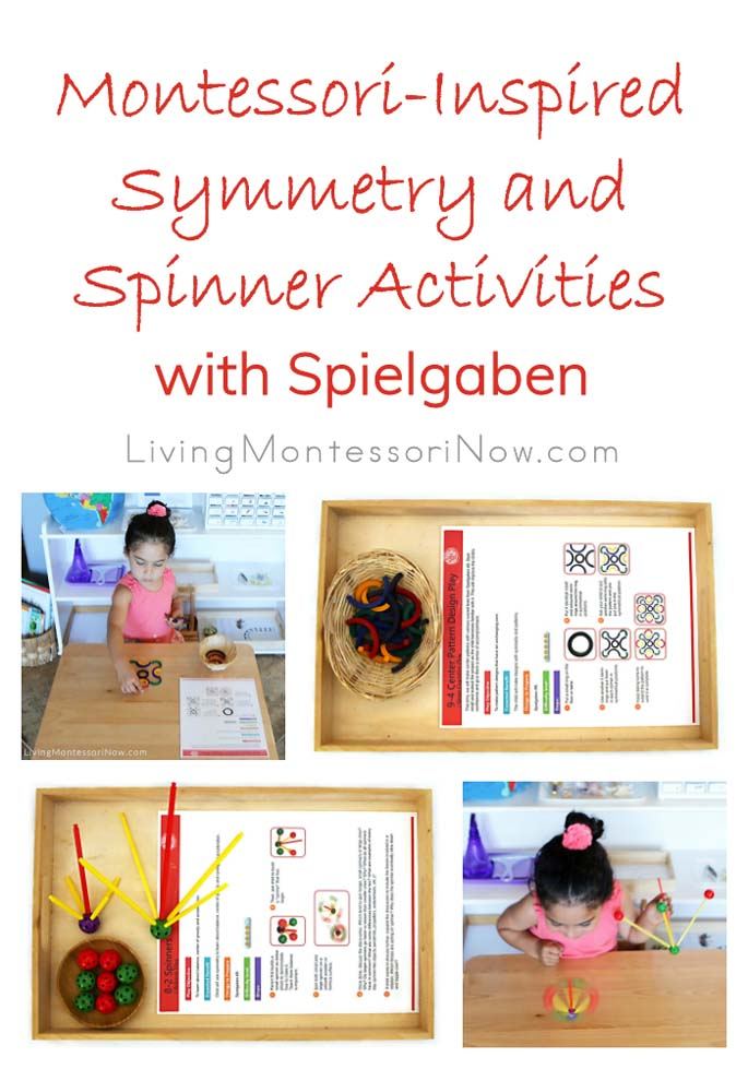 Montessori-Inspired Symmetry and Spinner Activities with Spielgaben