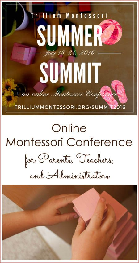 Online Montessori Conference for Parents, Teachers and Administrators