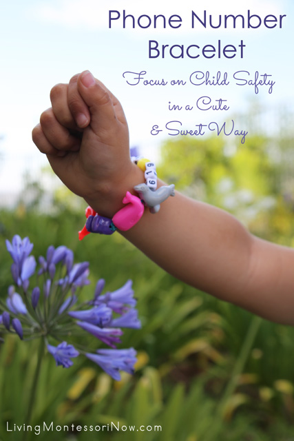 Phone Number Bracelet: Focus on Child Safety in a Cute and Sweet Way