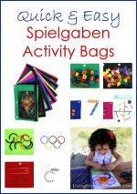 Quick and Easy Spielgaben Activity Bags {Montessori Monday}
