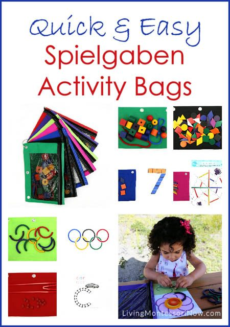 Quick and Easy Spielgaben Activity Bags