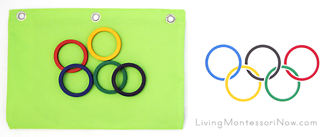 Spielgaben Olympic Rings Activity Bag for Preschoolers