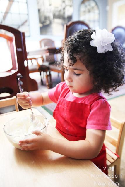 Stirring the Yogurt, Honey, and Protein Powder Together
