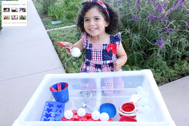 Working with Fine-Motor Activities in the DIY Water Table