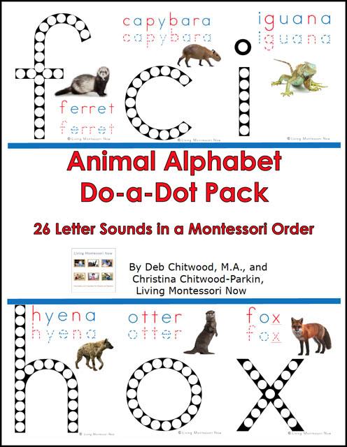 Animal Alphabet Do-a-Dot Pack