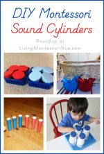 DIY Montessori Sound Cylinders