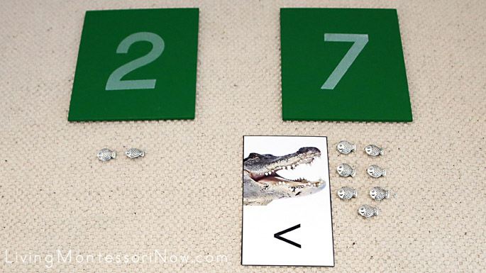 Finding the Greater Number in Greater Than, Less Than Alligator Math