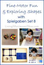 Fine-Motor Fun and Exploring Shapes with Spielgaben Set 8