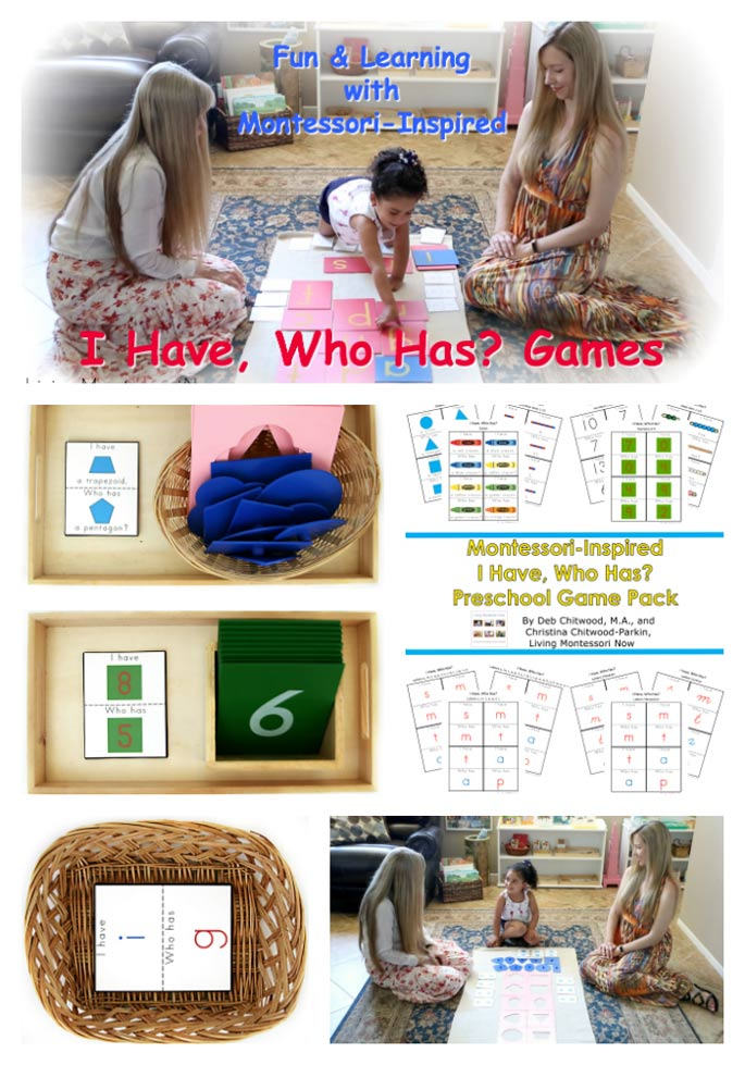 Fun and  Learning with Montessori-Inspired I Have, Who Has? Games