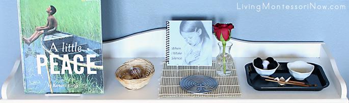 Montessori Peace Shelf