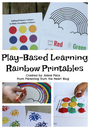 Play-Based Learning Rainbow Activity Booklet