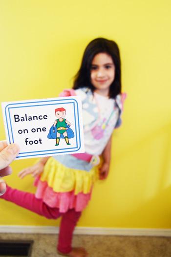 Superkids Sensory Break Cards for Busy Kids