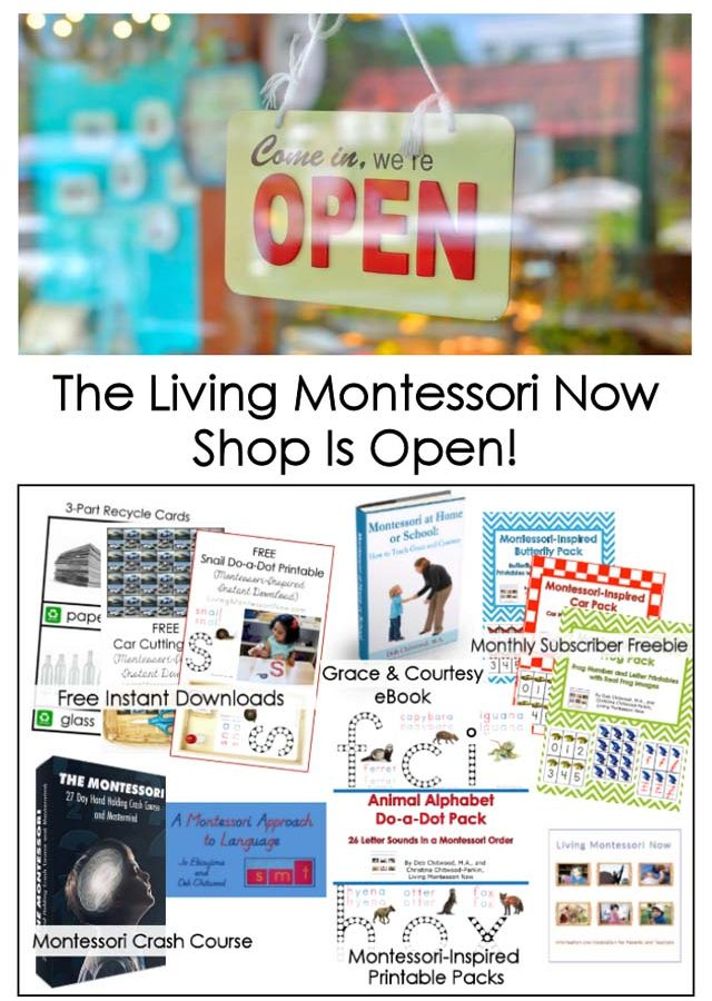 The Living Montessori Now Shop Is Open