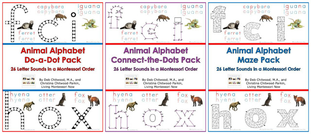 Animal Alphabet Packs