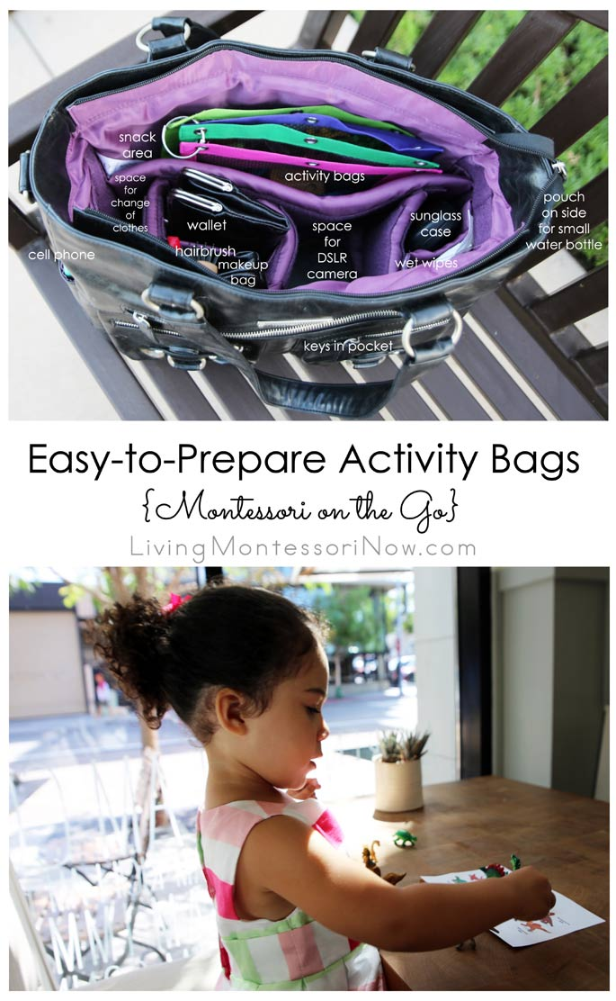 Easy-to-Prepare Activity Bags {Montessori on the Go} – Montessori Monday