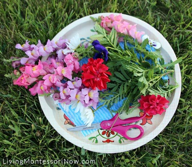Flower Cutting Tray
