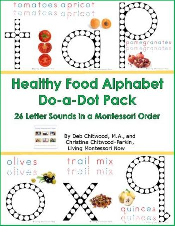Healthy Food Do-a-Dot Pack