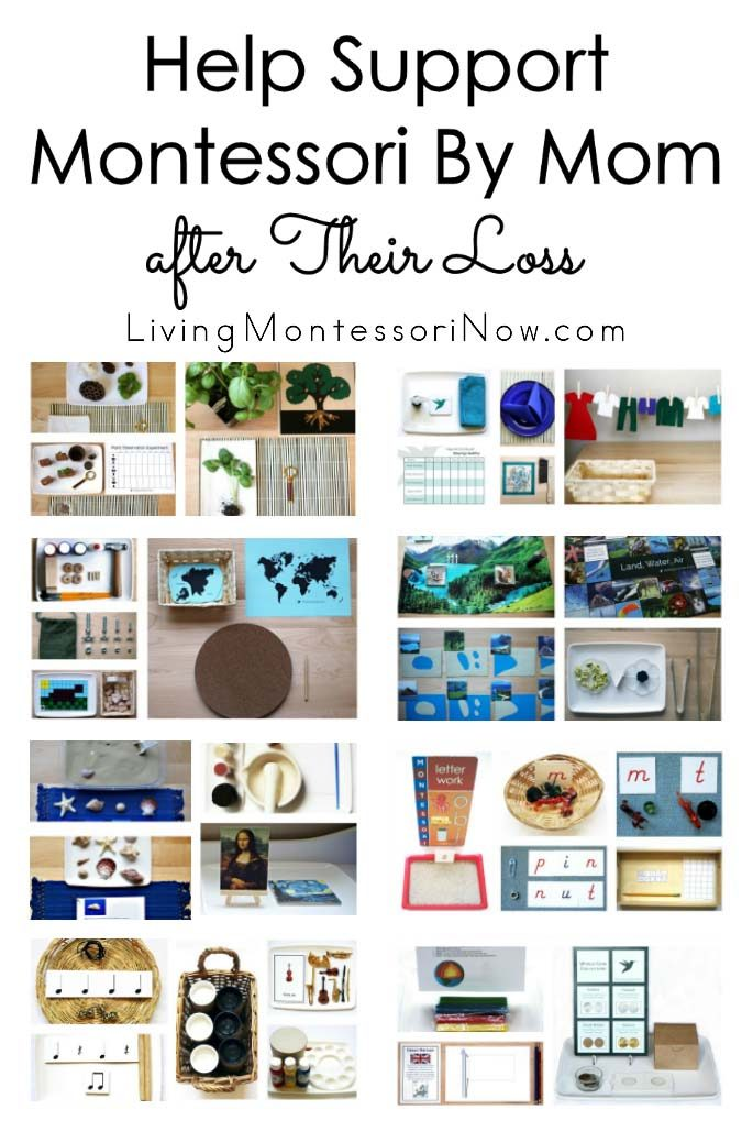 Help Support Montessori By Mom after Their Loss