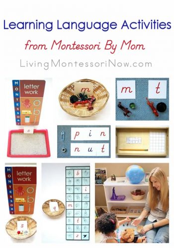 Learning Language Activities from Montessori By Mom