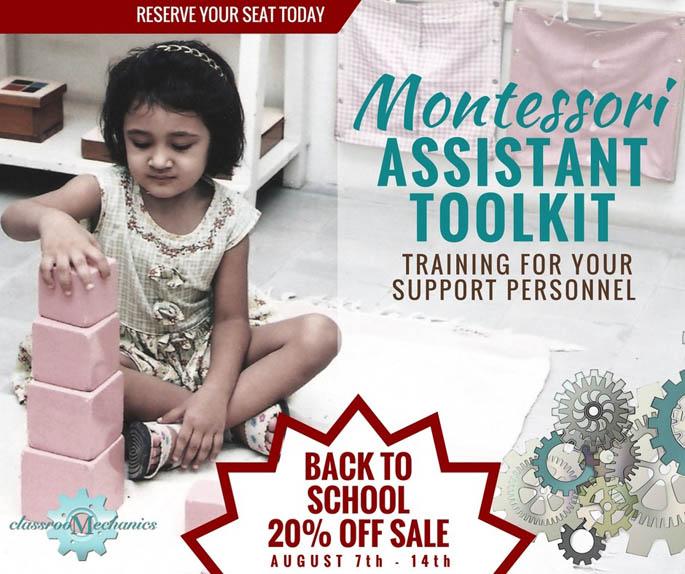 Montessori Assistant Toolkit