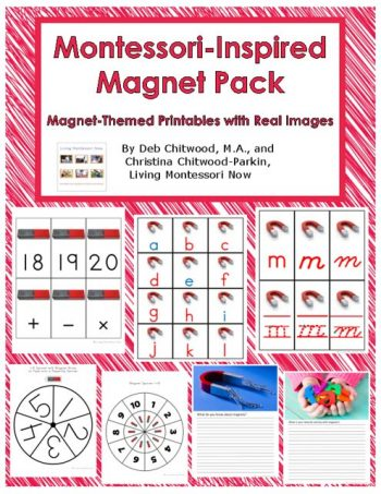 Montessori-Inspired Magnet Pack