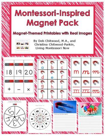 Montessori-Inspired Magnet Pack