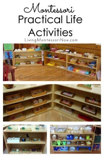 Montessori Practical Life Activities