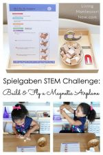 Spielgaben STEM Challenge: Build and Fly a Magnetic Airplane