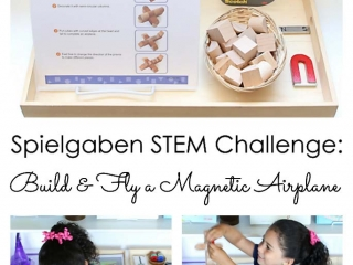 Spielgaben STEM Challenge - Build and Fly a Magnetic Airplane
