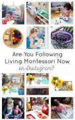 Are You Following Living Montessori Now on Instagram? {Montessori Monday}