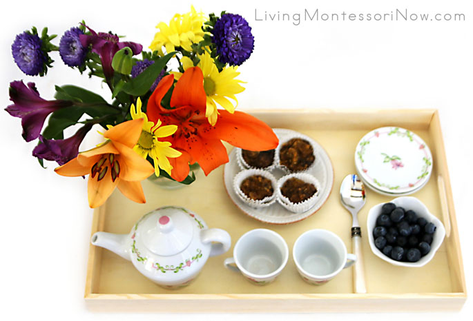 Back-to-School Tea Party Tray