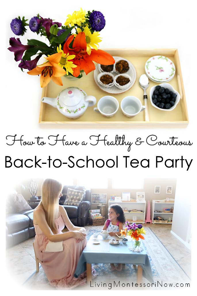 How to Have a Healthy and Courteous Back-to-School Tea Party