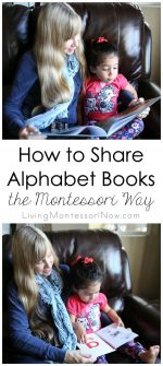 How to Share Alphabet Books the Montessori Way