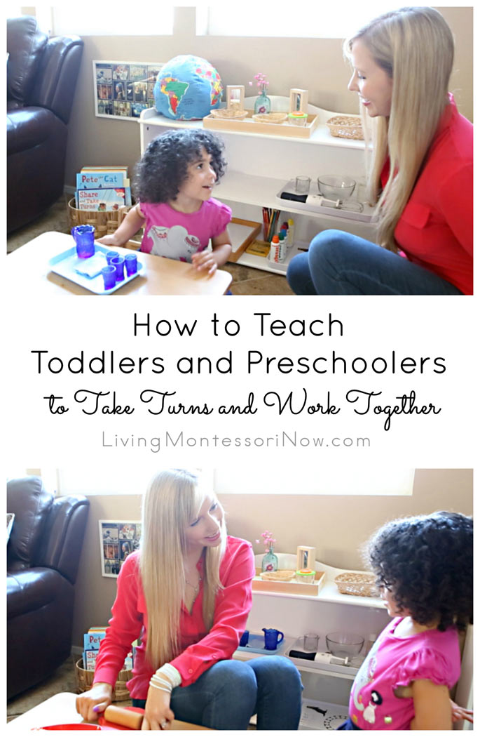 How to Teach Toddlers and Preschoolers to Take Turns and Work Together