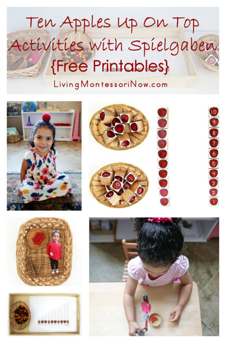 Ten Apples Up On Top Activities with Spielgaben {Free Printables}