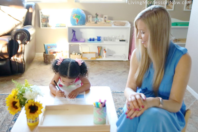 Writing Name for the First-Day-of-Preschool Interview